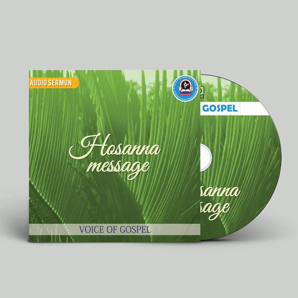 hosana-message